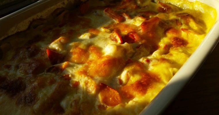 Hokkaido-Kürbis-Lasagne